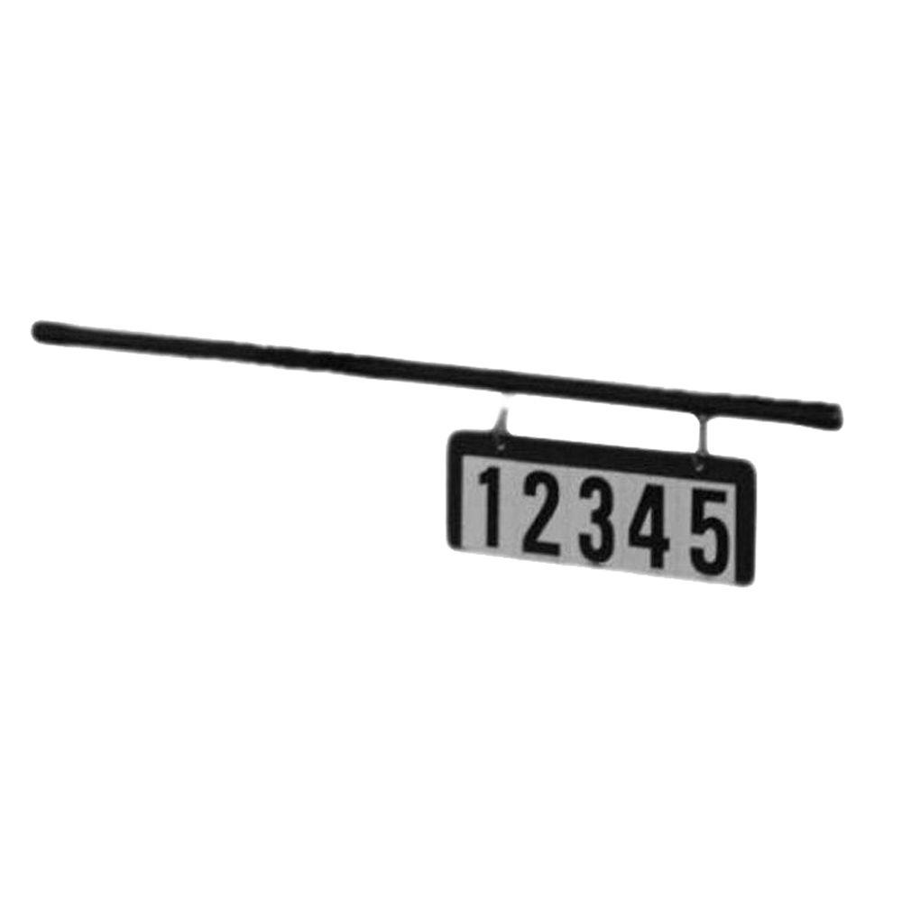 Accu-Tek Address Plate with Rod