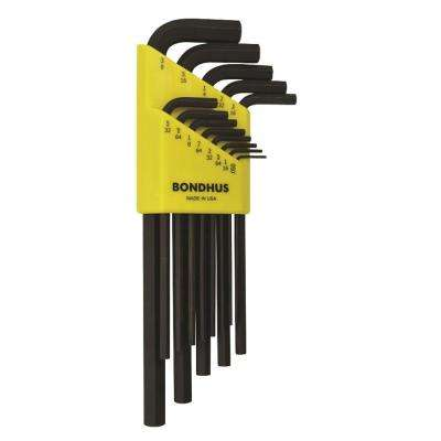 Standard Hex End Long Arm L-Wrench Set with ProGuard Finish (13-Piece)