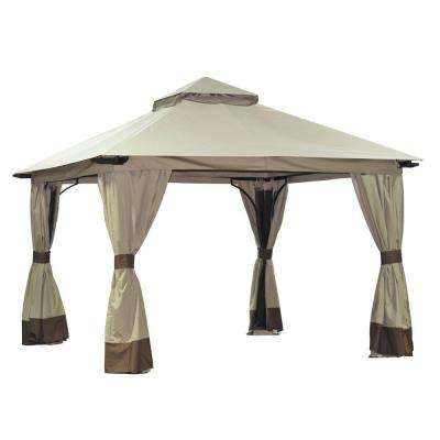 Brynn 12-1/2 ft. x 12-1/2 ft. Aluminum Soft Top Gazebo