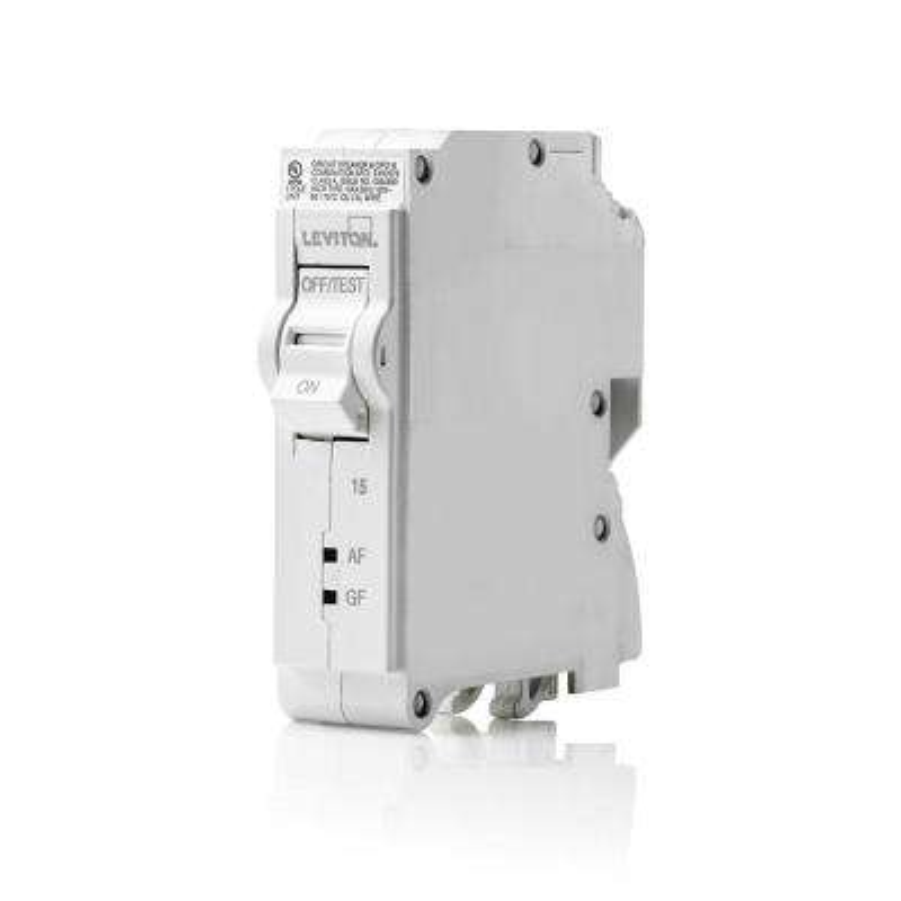 15 Amp 1-Pole 120VAC Plug-On AFCI/GFCI Branch Circuit Breaker