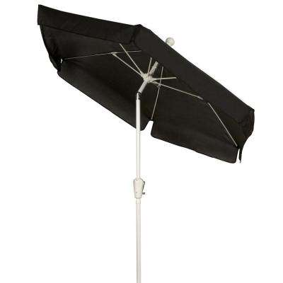 7.5 ft. Patio Umbrella in Black