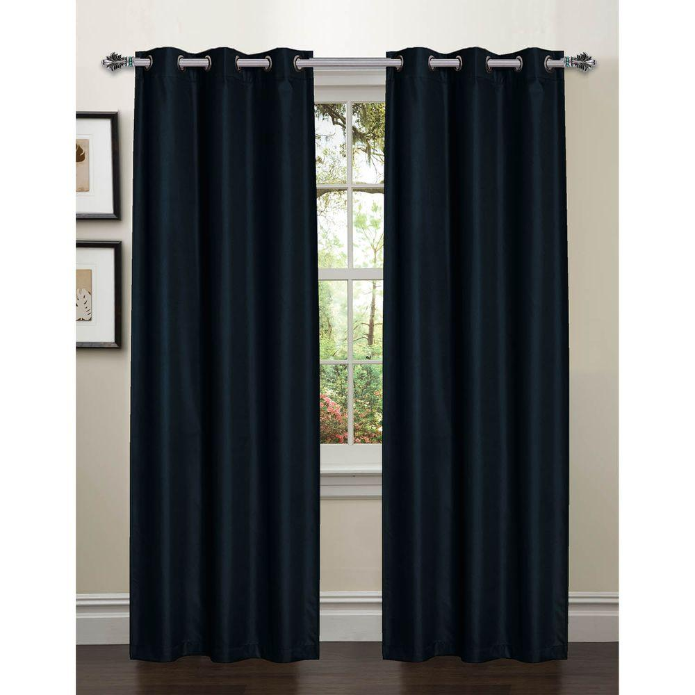 l room darkening textured grommet curtain panel
