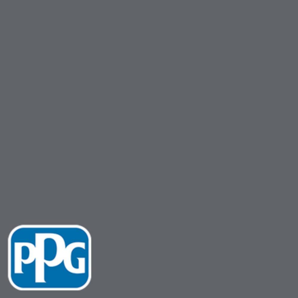8 oz. #HDPPGCN39 Charcoal Coast Flat Interior/Exterior Paint Sample