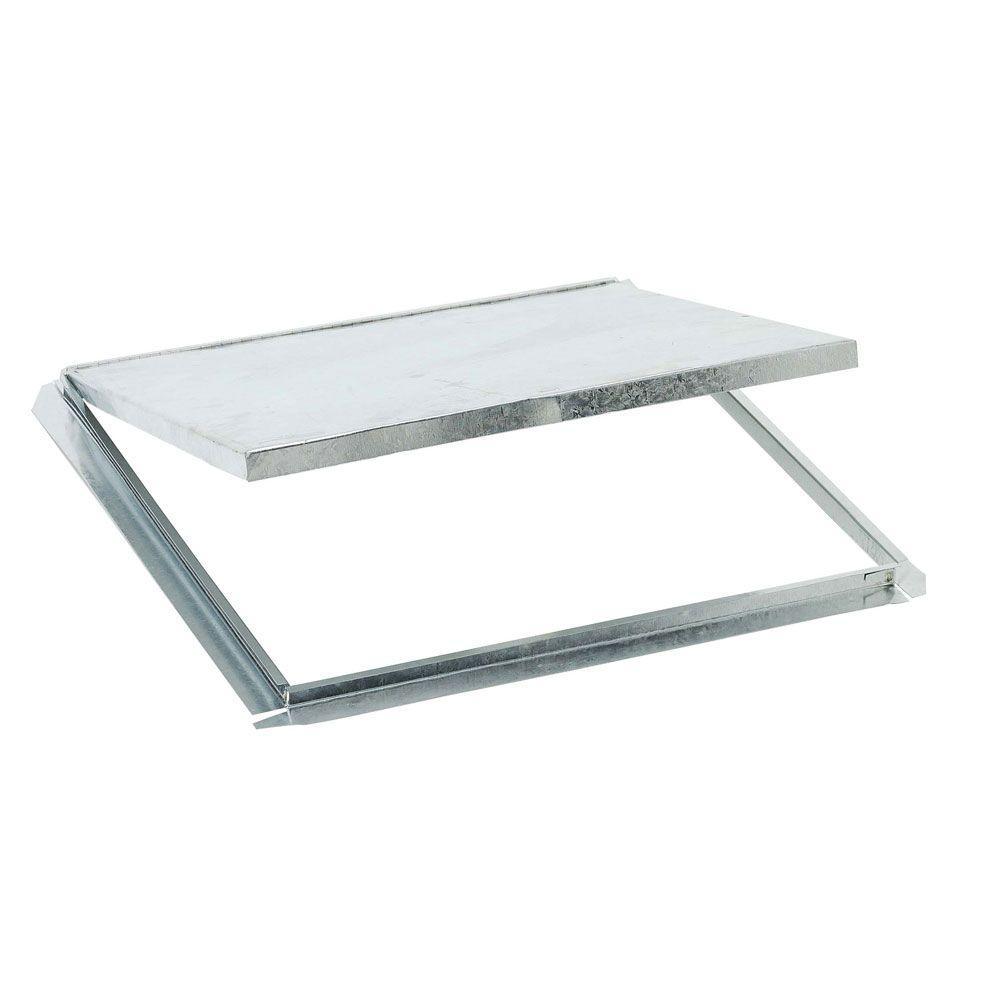 Construction Metals Inc. 15-3/4 in. x 15-3/4 in. Galvanized Steel Wall Tub Access Door