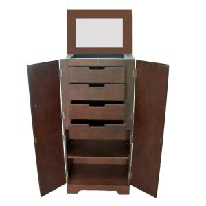 Home Decorators Collection Victoria Free Standing Jewelry Armoire in