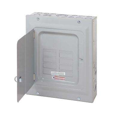 BR 125 Amp 6-Space 12-Circuit Indoor Main Lug Loadcenter with Surface Door