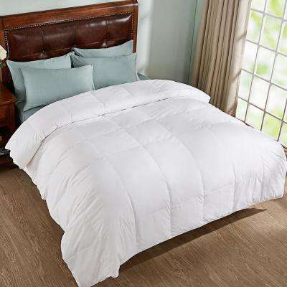 All Season White king Down Comforter