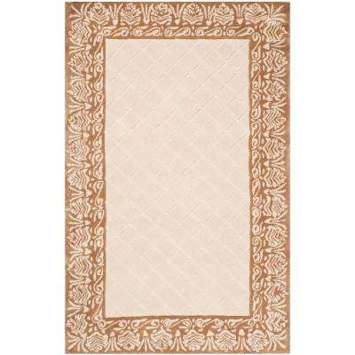 Total Performance Ivory/Cream 2 ft. x 3 ft. Area Rug