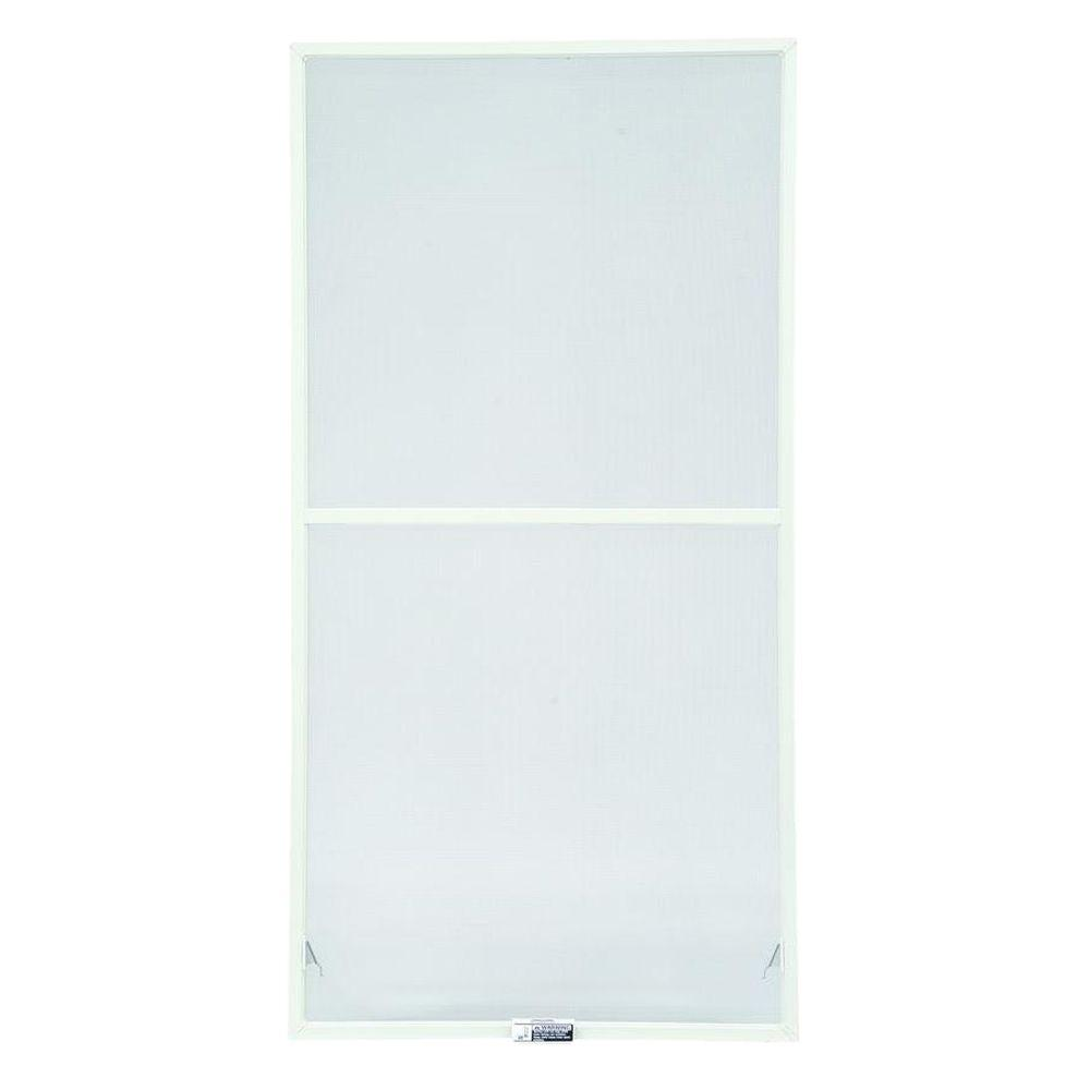 Andersen 35-7/8 in. x 50-27/32 in., White Aluminum Insect Screen, For 400 Series & 200 Series Narroline Double-Hung Windows