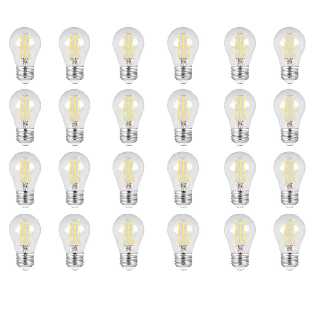 60W Equivalent Daylight (5000K) A15 Dimmable Filament LED Clear Glass Light