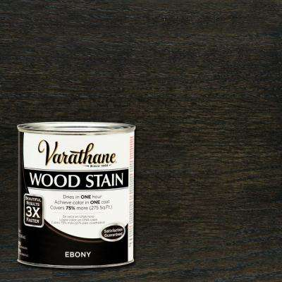 1 qt. 3X Ebony Premium Wood Stain (Case of 2)