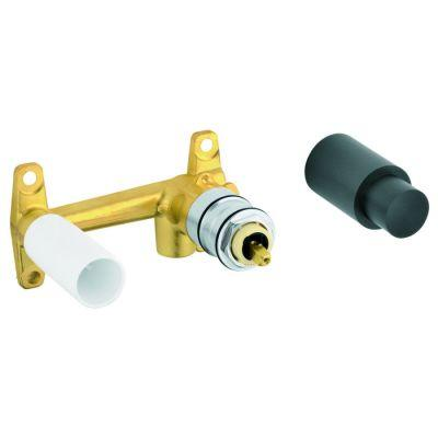 null 1/2 in. Brass FIP Wall-Mount Lavatory Rough-In Valve