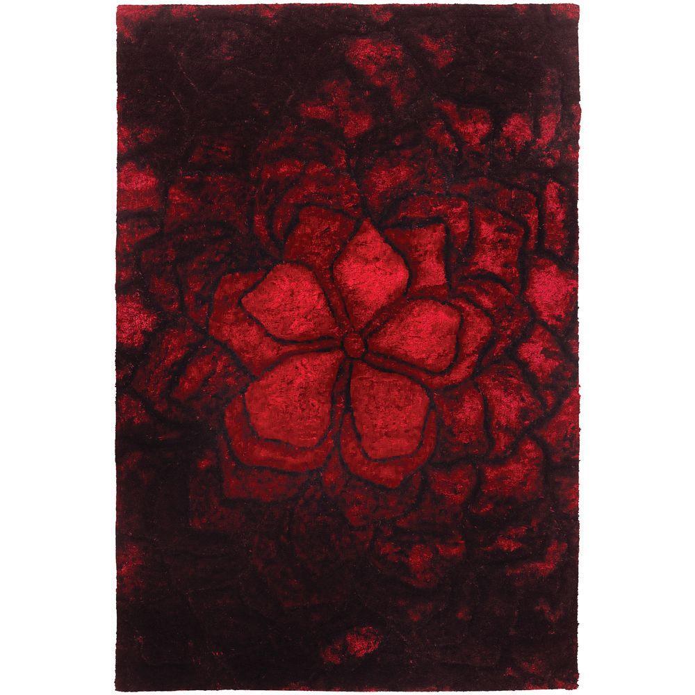 Flemish Red/Black 5 ft. x 7 ft. 6 in. Indoor Area