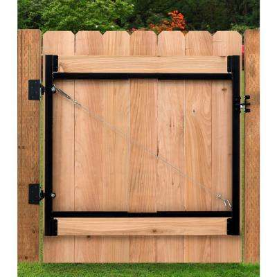 Original Series 36 in. - 60 in. Wide Gate Opening, Steel Gate Frame Kit