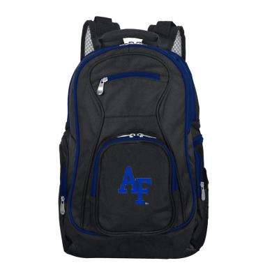 NCAA Air Force Falcons 19 in. Black Trim Color Laptop Backpack