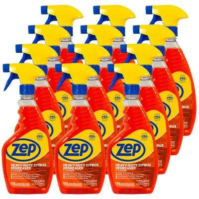 24 oz. Heavy-Duty Citrus Degreaser (Case of 12)