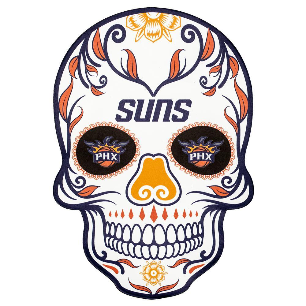 NBA Phoenix Suns Outdoor Skull Graphic- Small