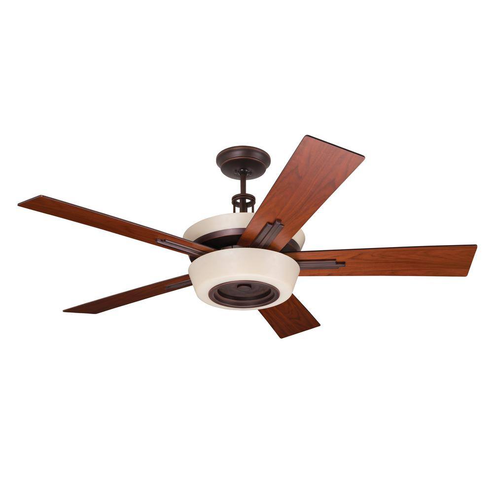 Hunter Baybrook 52 Onyx Bengal Damp Rated Ceiling Fan At: Hunter Haddington 46 In. Indoor Onyx Bengal Bronze Ceiling