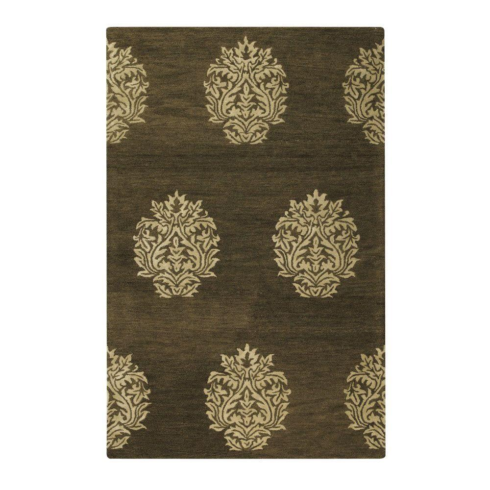 Home Decorators Collection Old Treasures Brown/Cream 8 Ft