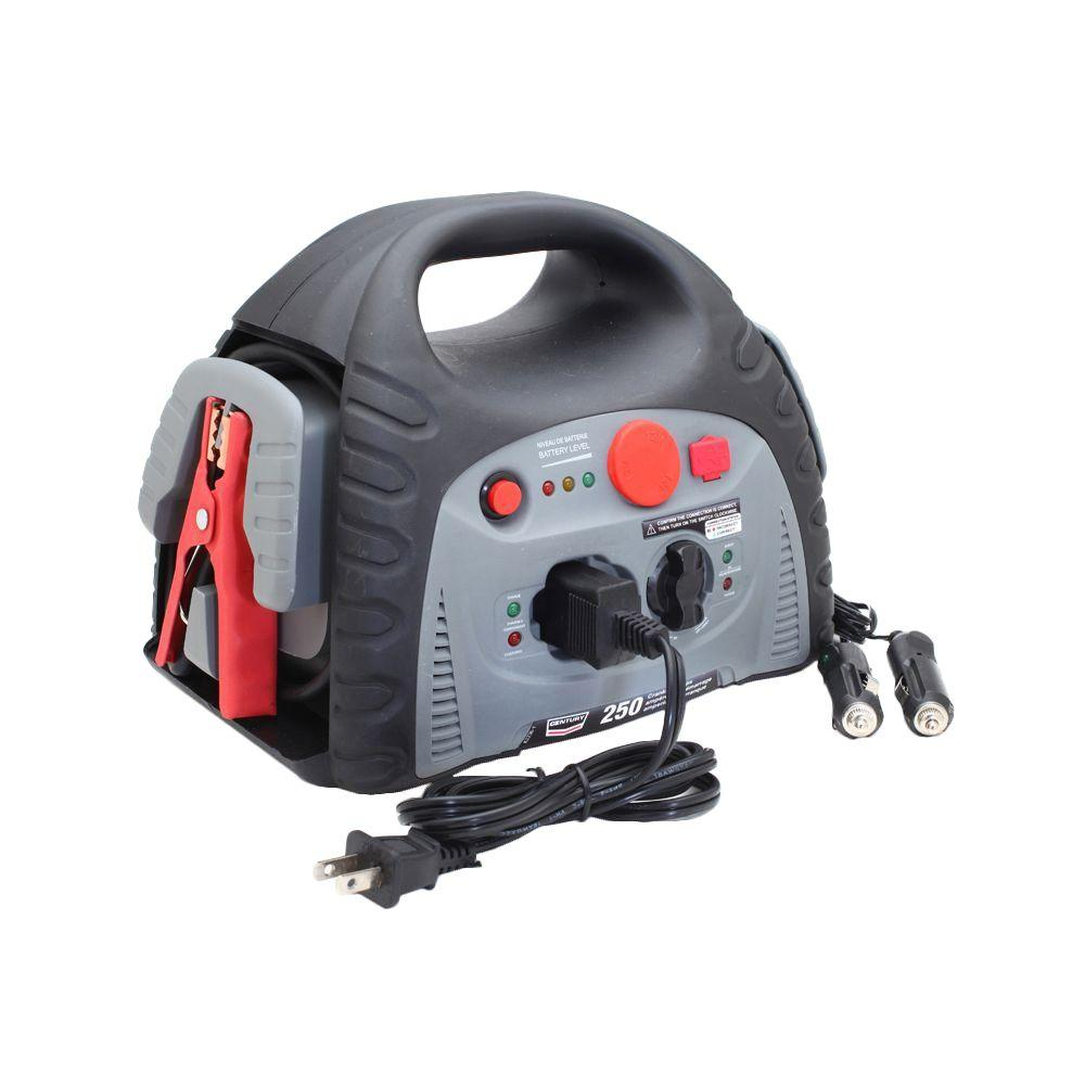 Century 250-Amp Jump Starter/Portable Power Supply