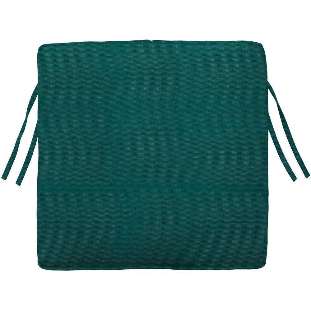 Square Box Edge Outdoor Chair Cushion