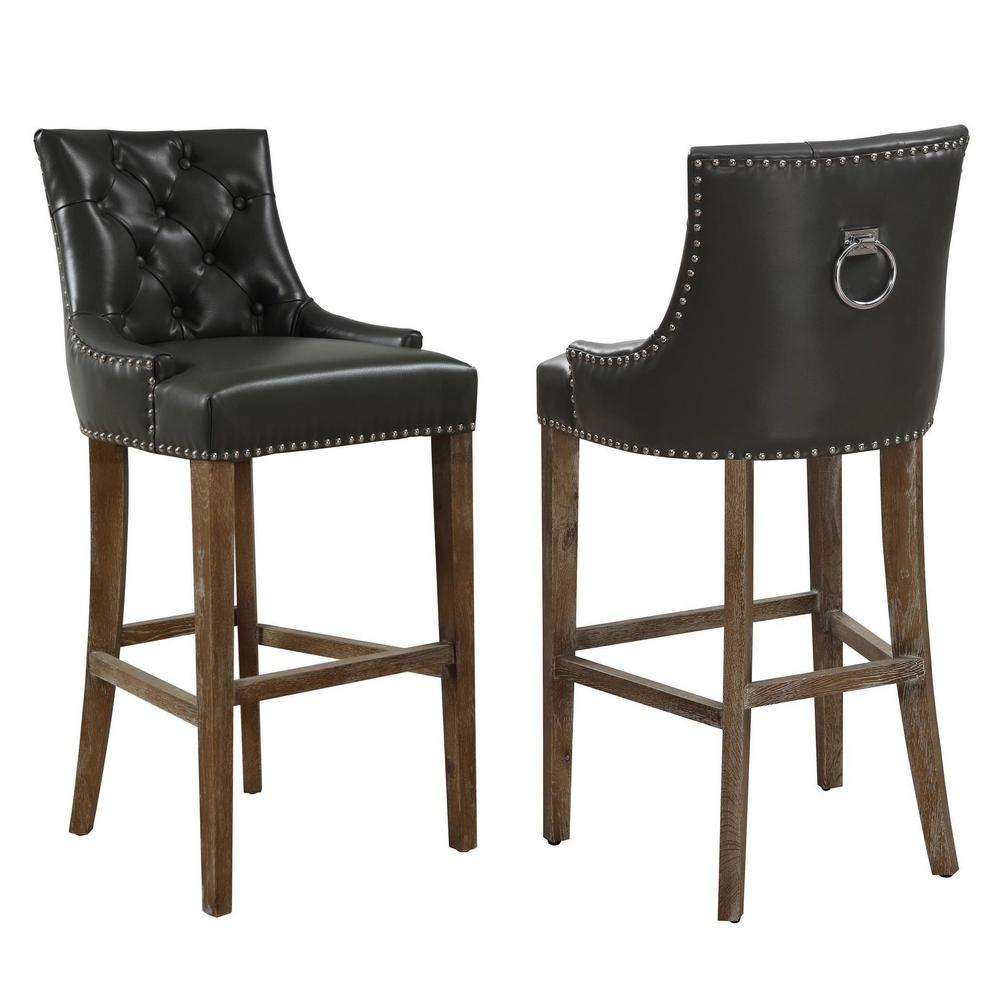 Tov Furniture Uptown 43 In Grey Barstool Tov Bs 07 The