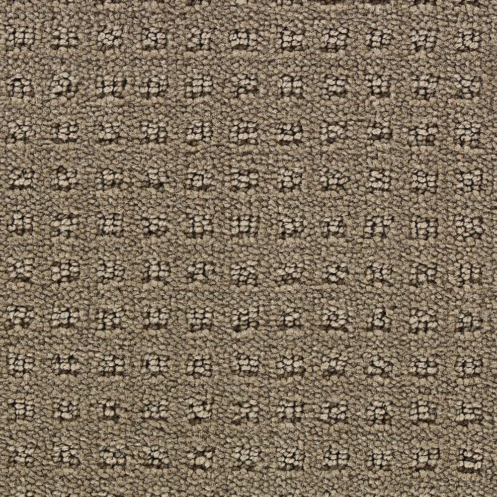 Martha Stewart Living Springwood Snail Shell - 6 in. x 9 in. Take Home Carpet Sample