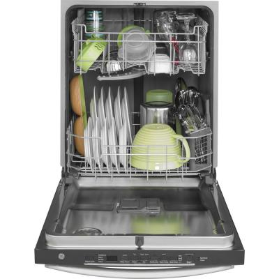 24 in. Stainless Steel Top Control Smart Built-In Tall Tub Dishwasher with Steam Cleaning and 48 dBA