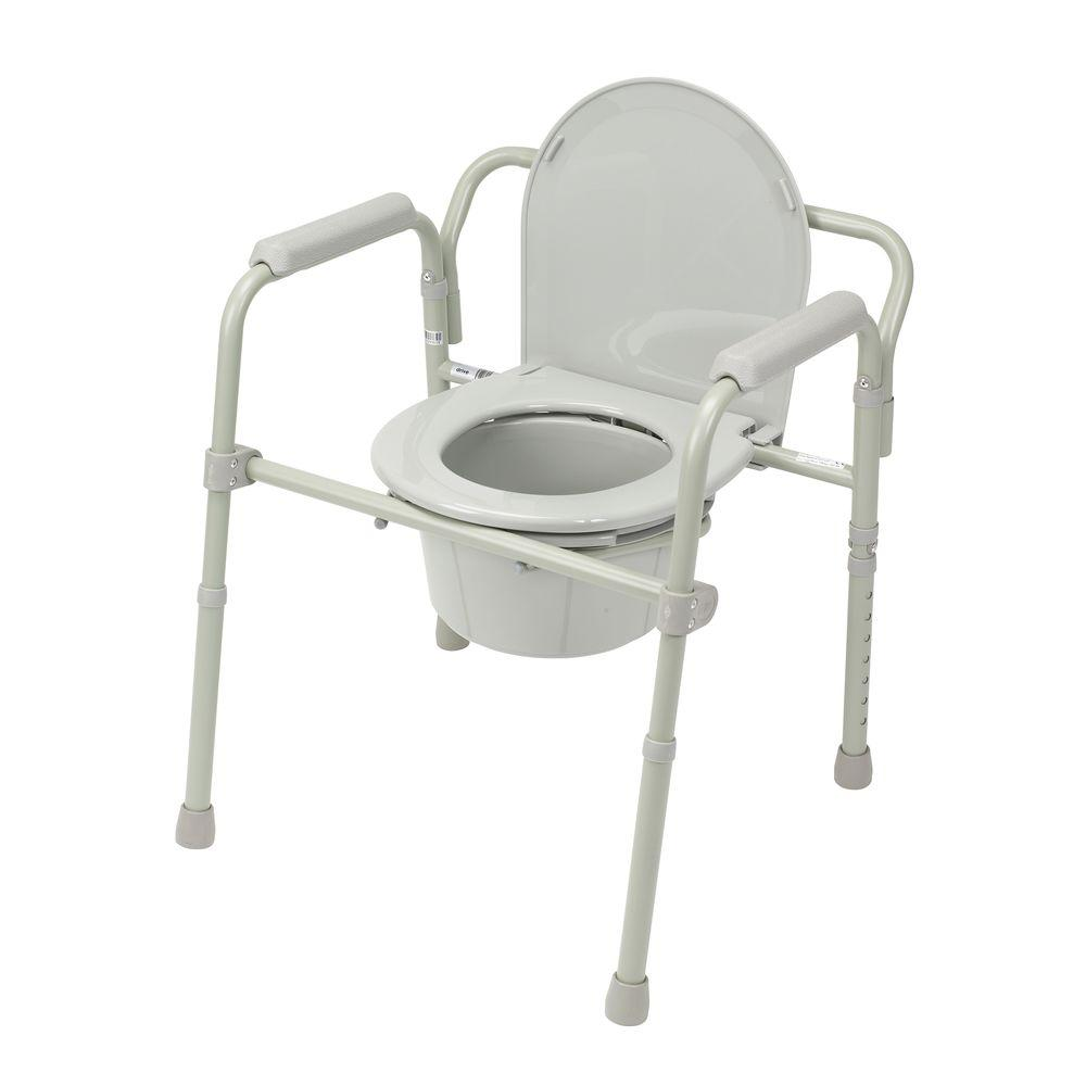 Bedside Commodes Toilet Safety The Home Depot