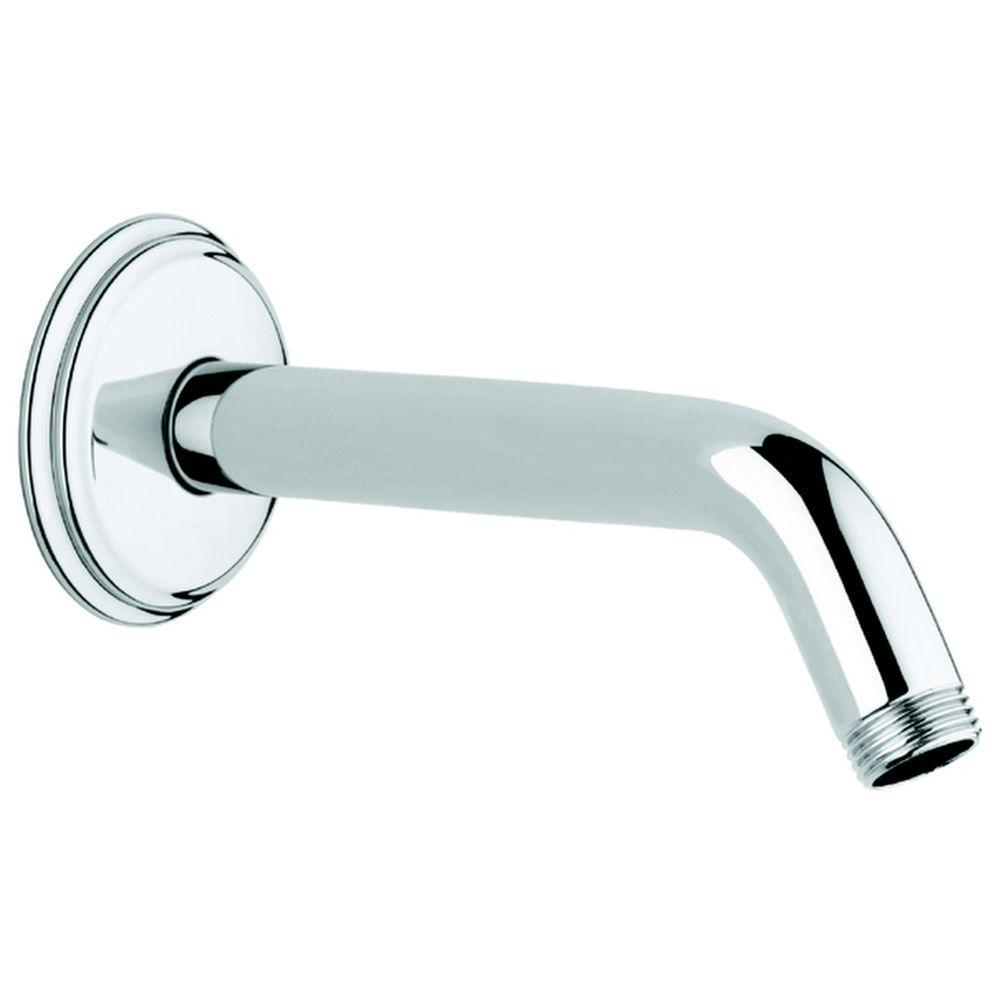 Geneva Shower Arm In StarLight Chrome