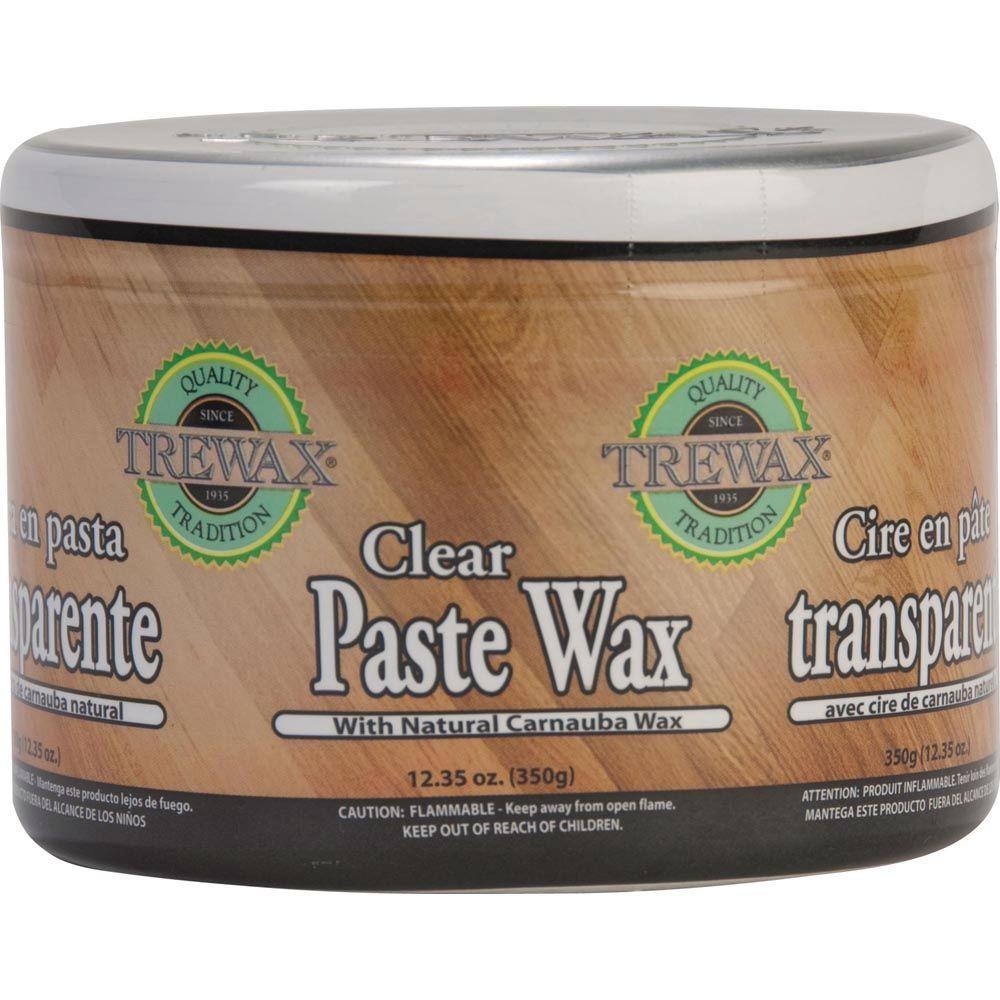 12.35 oz. Hardwood Floor Paste Wax Polish Clear (2-Pack)
