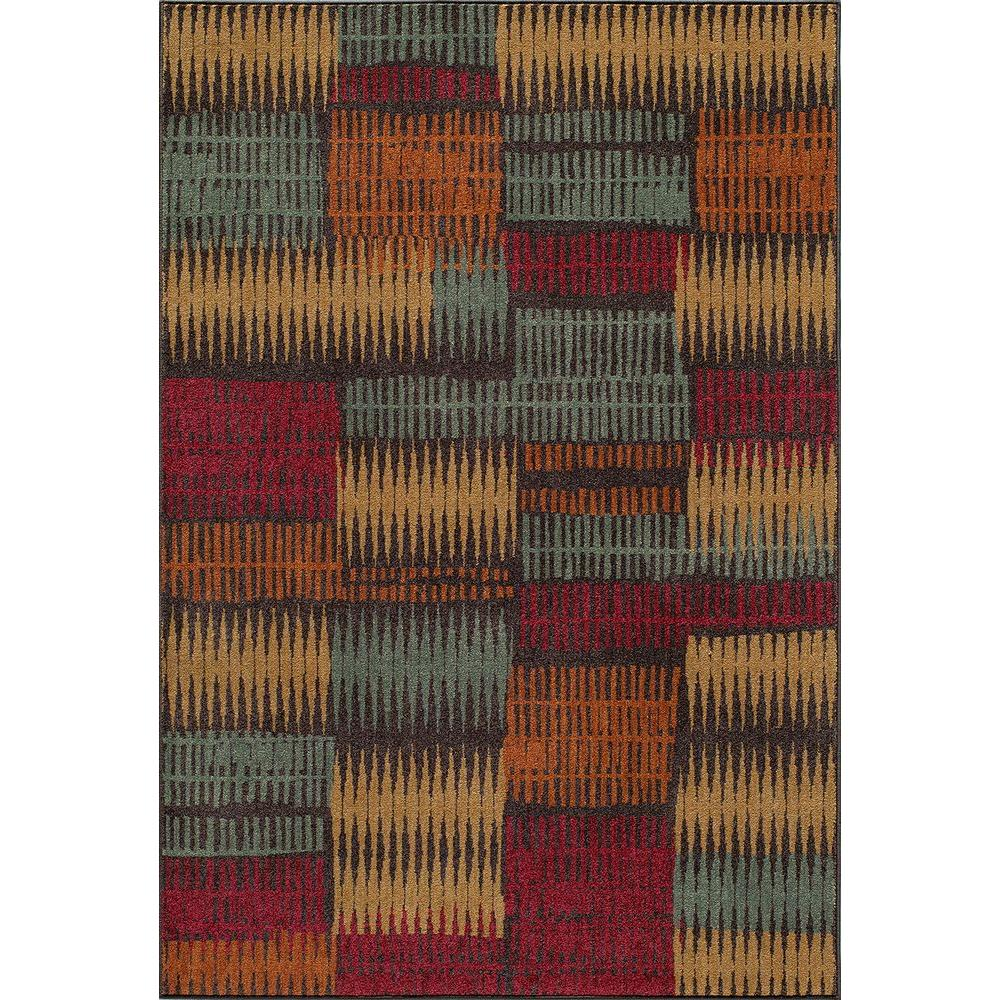 Momeni Vista Brown 3 ft. 7 in. x 5 ft. 7 in. Area Rug