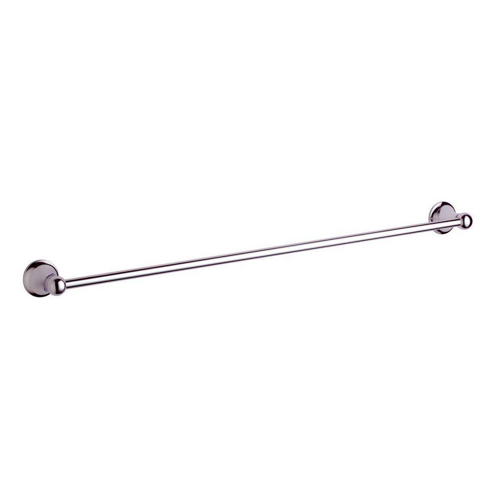 GROHE Seabury 24 in. Towel Bar in Polished Nickel InfinityFinish