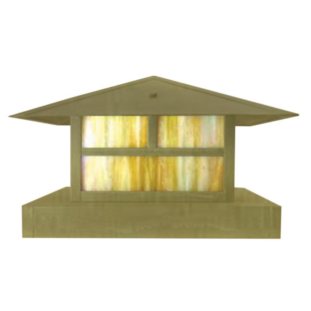 Centennial 1-Light Outdoor LED Brass Area Light