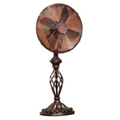 12 in. Prestige Rustica Table Fan