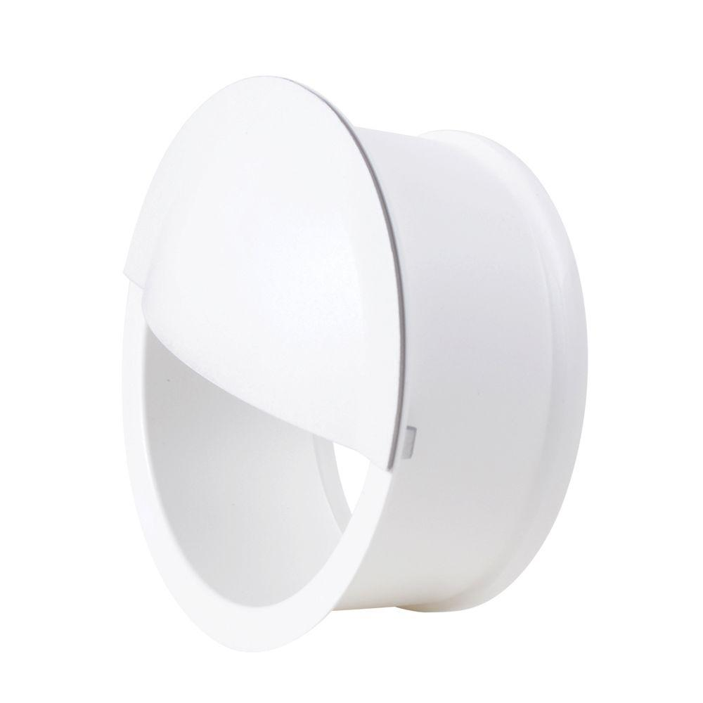 Cree 4 in. White LED Recessed Downlight Eyelid Trim  sc 1 st  The Home Depot & Cree 4 in. White LED Recessed Downlight Eyelid Trim-DRDL4-ELDWHFL-1 ...