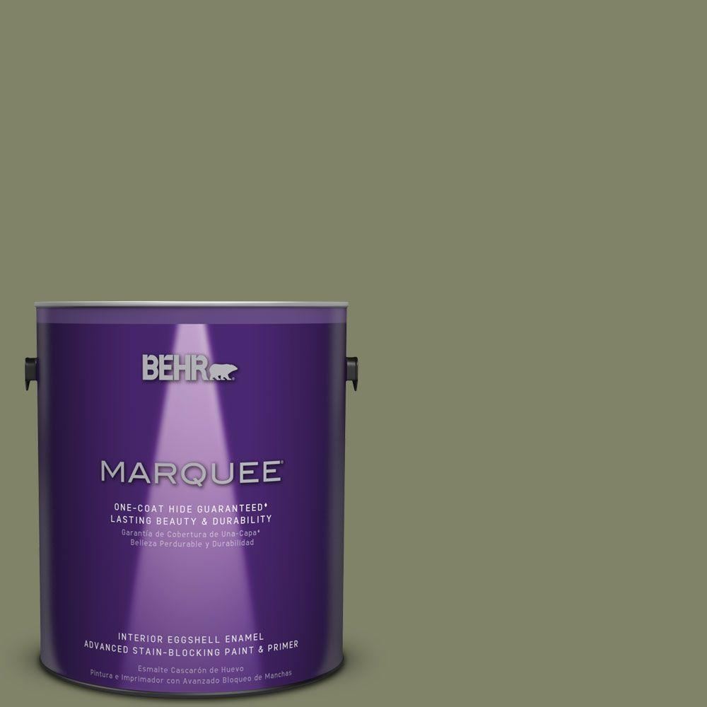 1 gal. #S380-6 Ecological One-Coat Hide Eggshell Enamel Interior Paint
