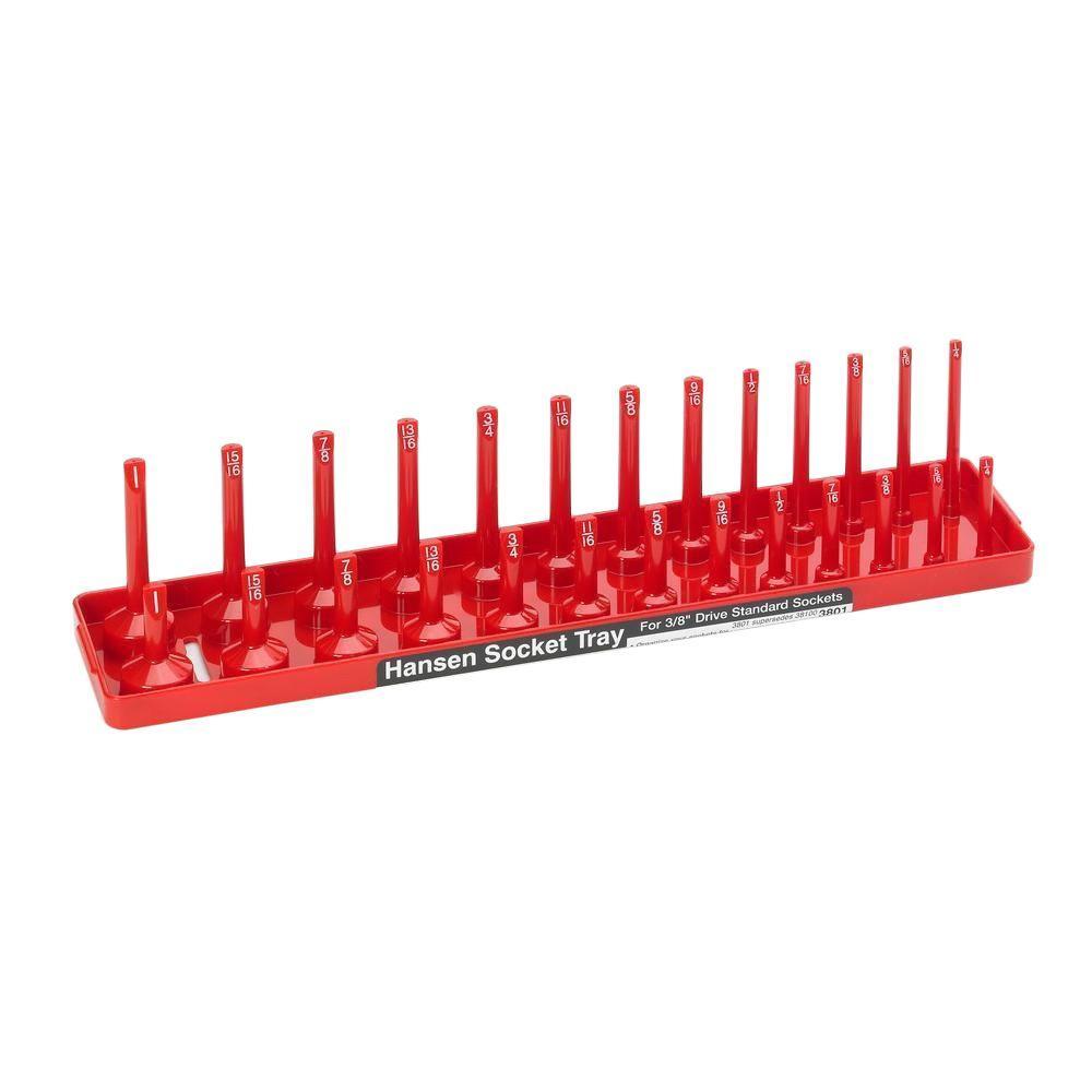 3/8 in. Drive Standard Socket Tray