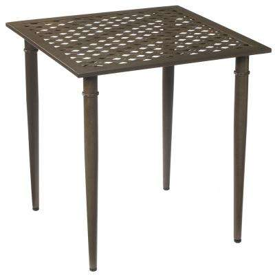 Oak Cliff Metal Outdoor Bistro Table