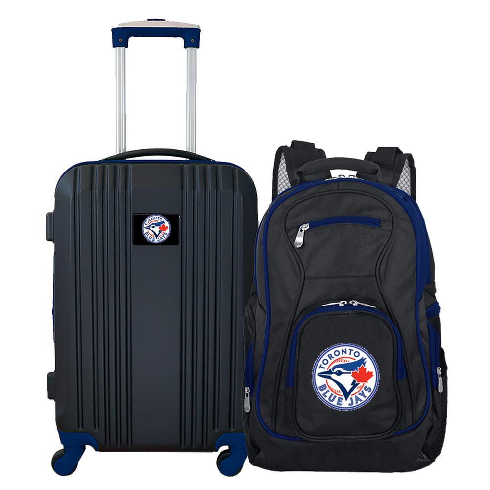MLB Toronto Blue Jays 2-Piece Set Luggage and Backpack