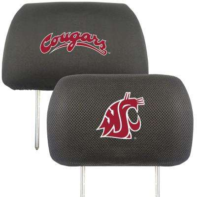 NCAA Washington State University Embroidered Head Rest Covers (2-Pack)