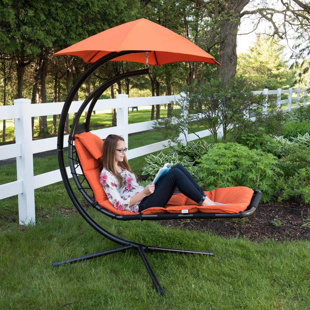 Lawn Chair 40 Oz: Vivere Original Dream Single Motion Patio Lounge Chair