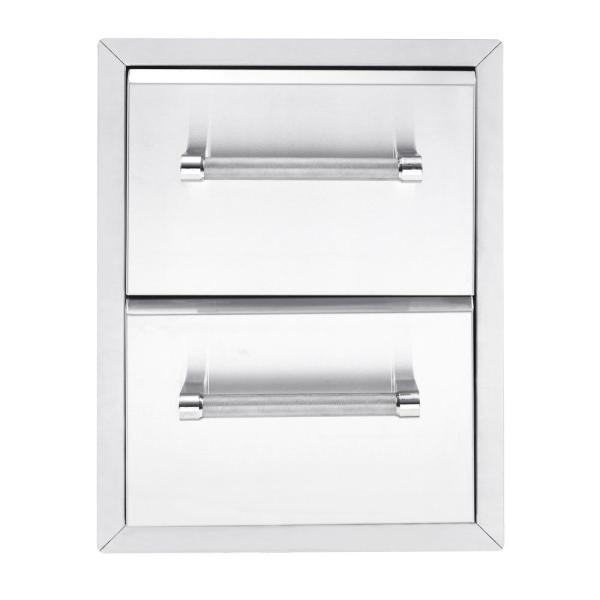 Kitchenaid 18 In Built In Grill 2 Drawer Large Cabinet 780 0016 The Home Depot
