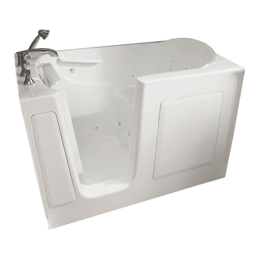 Captivating American Standard Gelcoat Standard Series 60 In. X 30 In. Walk In Whirlpool
