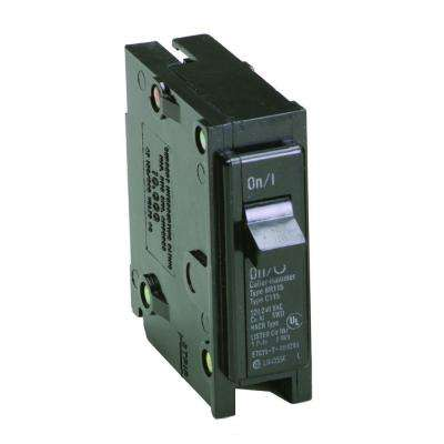 BR 15 Amp Single Pole Circuit Breaker Contractor (Pack of 10)