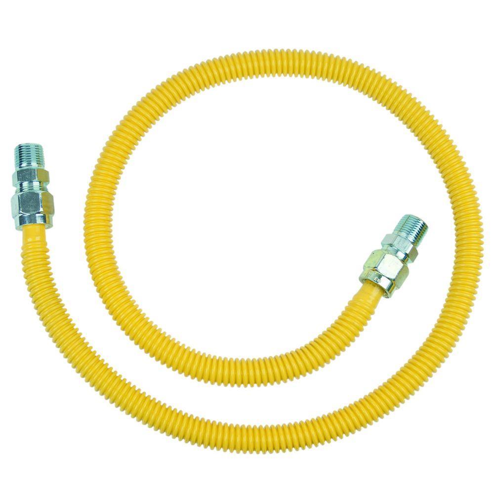 BrassCraft CSSC44-48P Stainless Steel Gas Connector