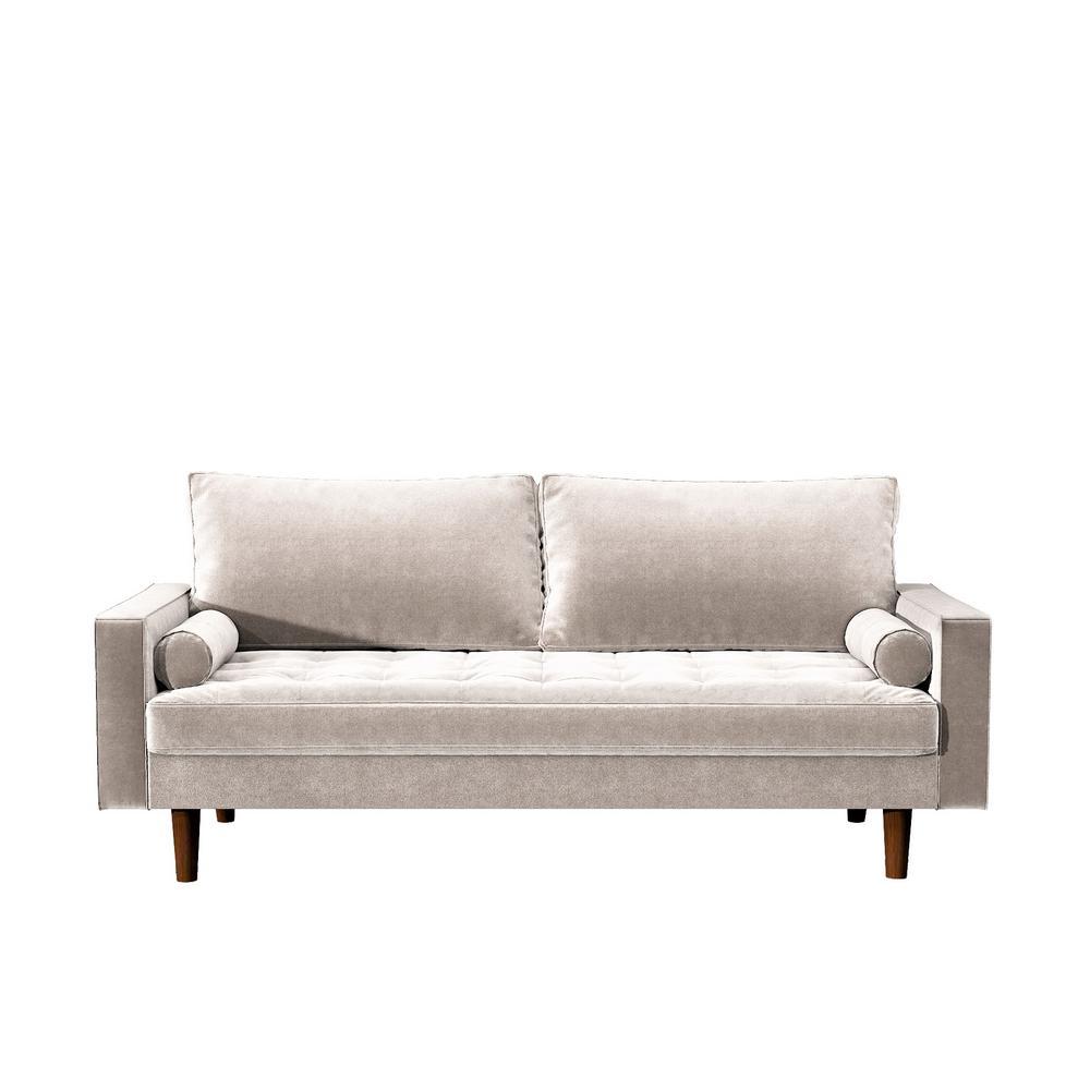 Civa velvet Beige Sofa