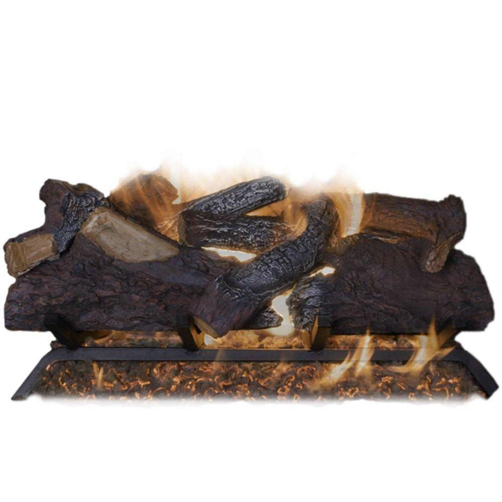 Canyon Campfire 18 in. Vented Natural Gas Fireplace Logs