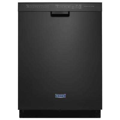 Front Control Built-In Tall Tub Dishwasher in Black, 50 dBA