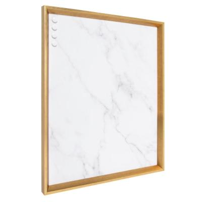 Calter Gold Marble Magnetic Memo Board